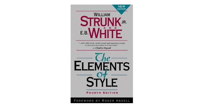 Strunk & White's The Elements of Style